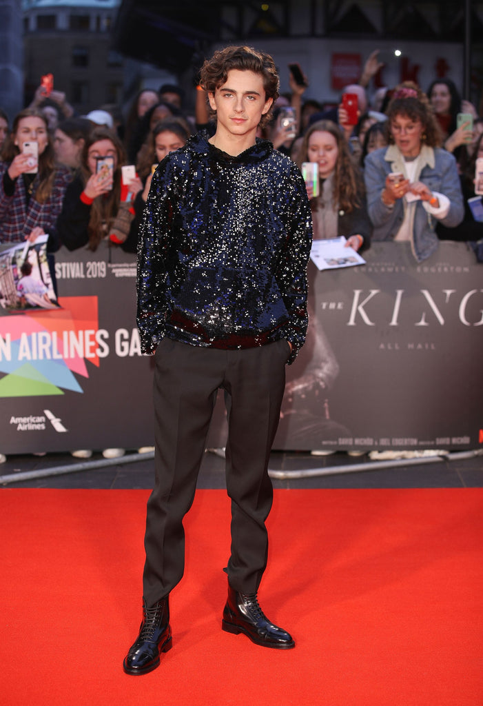 Timothée Chalamet Shakes up the Red Carpet with a High-Fashion Hoodie