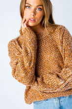 Load image into Gallery viewer, Knit Marled Pullover Sweater - Sensual Fashion Boutique
