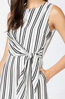 Adelyn Rae Linden Woven Tie Jumpsuit - Sensual Fashion Boutique