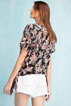 Load image into Gallery viewer, Easel Get Tropical Printed Side Tie Surplice Top - Sensual Fashion Boutique