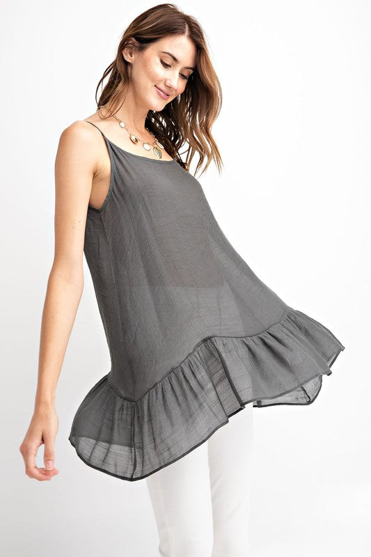 Easel All In My Head Cami Tunic - Sensual Fashion Boutique