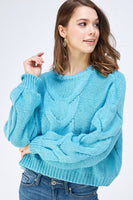 Chunky Knit Pullover Sweater - Sensual Fashion Boutique
