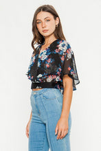 Load image into Gallery viewer, Jealous Tomato Floral Print Crop Top - Sensual Fashion Boutique