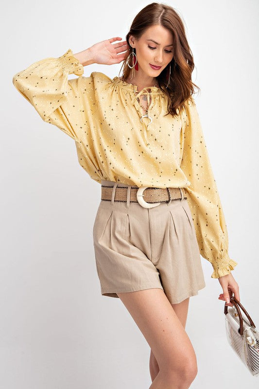 Easel The Second Star Blouse - Sensual Fashion Boutique