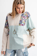 Load image into Gallery viewer, Easel Dolman Sleeve Patch It Up Tee - Sensual Fashion Boutique