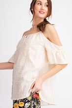Load image into Gallery viewer, Easel Cold Shoulder Crochet Tunic - Sensual Fashion Boutique