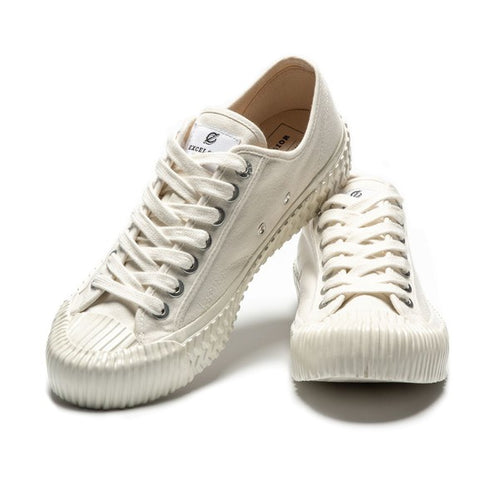 Excelsior Industrial Classic Bolt Low Top Carry Over White Shoes - Sensual Fashion Boutique