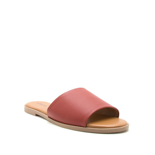 Qupid Desmond Slide Sandals - Sensual Fashion Boutique