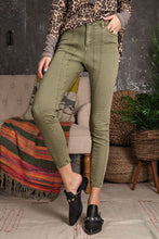 Load image into Gallery viewer, Easel Washed Twill stretch Skinny Pants - Sensual Fashion Boutique