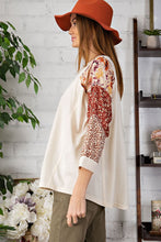 Load image into Gallery viewer, Easel Vintage Boho Inspired Patchwork Print Sleeve Top - Sensual Fashion Boutique