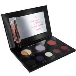 My Fierce Violets-Complete Makeup Pallet- Includes 2 Shadow Primers, 3 Eye Shadows, Eye Liner, Blush, 2 Lip Colors, Lip Gloss - Sensual Fashion Boutique