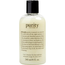 Purity Made Simple - 3-in-1 cleanser for face and eyes --240ml/8oz - Sensual Fashion Boutique