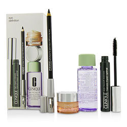 Eye Definition Set: 1x Kohl Shaper For Eyes + 1x High Impact Mascara + 1x Makeup Remover + 1x All About Eyes --4pcs - Sensual Fashion Boutique