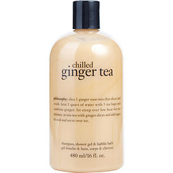 Chilled Ginger Tea Shampoo, Shower Gel & Bubble Bath 16 oz - Sensual Fashion Boutique
