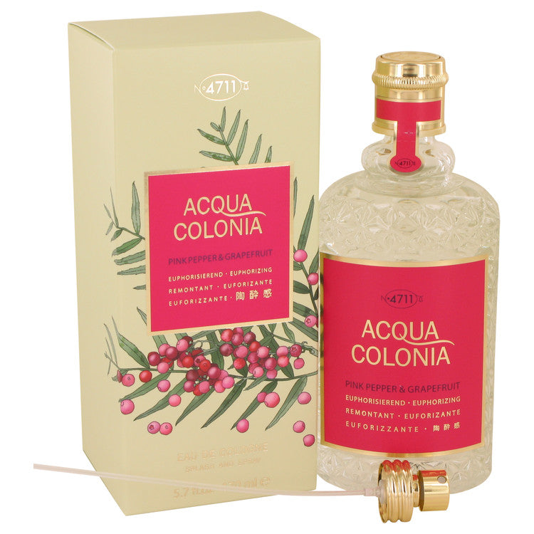 4711 Acqua Colonia Pink Pepper & Grapefruit Eau De Cologne Spray By Maurer & Wirtz - Sensual Fashion Boutique
