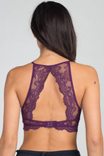Load image into Gallery viewer, Anemone Lace High Neck Open Back Bralette - Sensual Fashion Boutique