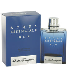 Load image into Gallery viewer, Acqua Essenziale Blu Eau De Toilette Spray By Salvatore Ferragamo - Sensual Fashion Boutique