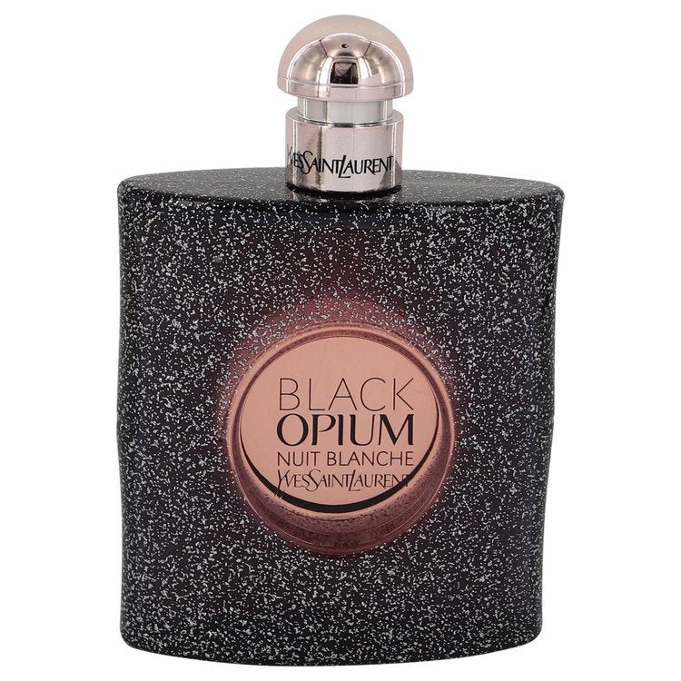 Black Opium Nuit Blanche Eau De Parfum Spray (Tester) By Yves Saint Laurent - Sensual Fashion Boutique