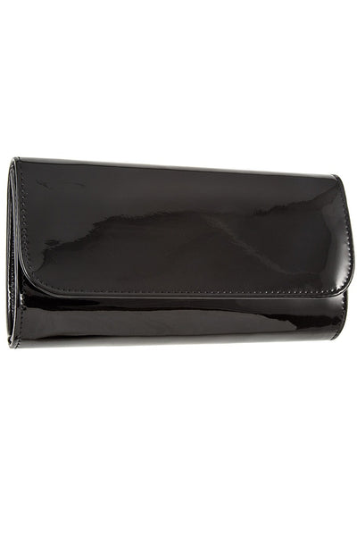 Patent detail clutch bag - Sensual Fashion Boutique