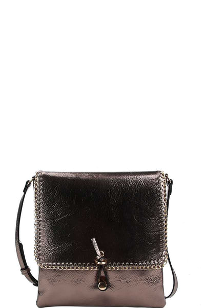 Designer Trendy Chained Crossbody Bag - Sensual Fashion Boutique