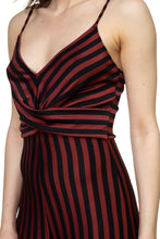 Load image into Gallery viewer, Stripe Front Twist Jumpsuit - Sensual Fashion Boutique