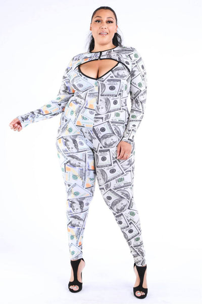 New Money Old Money Catsuit - Sensual Fashion Boutique