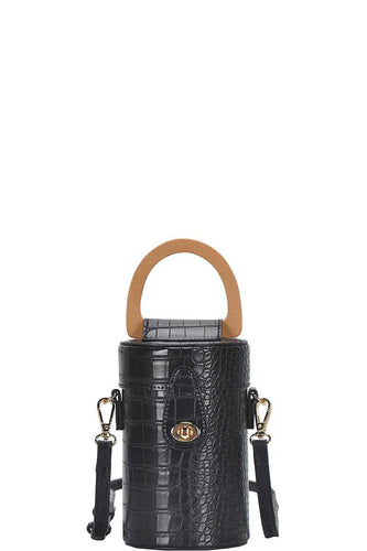 Fashion Cylindrical Cute Crossbody Bag With Long Strap - Sensual Fashion Boutique
