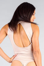 Load image into Gallery viewer, Mock Neck Sleeveless Keyhole Back Bodysuit - Sensual Fashion Boutique