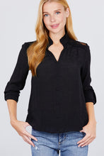 Load image into Gallery viewer, V-neck Button Down Woven Top - Sensual Fashion Boutique