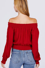 Load image into Gallery viewer, Front Pocket Off Shoulder Top - Sensual Fashion Boutique