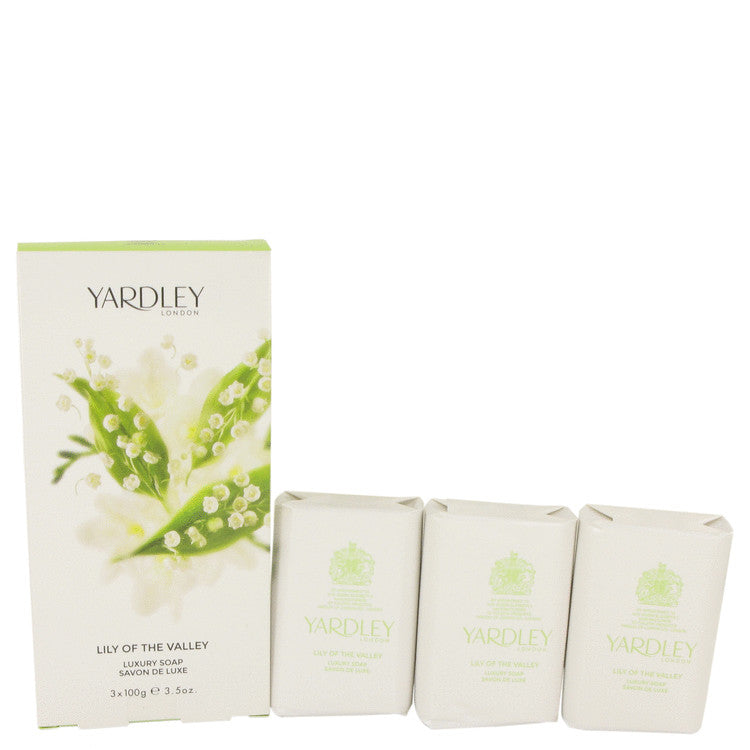 Lily Of The Valley Yardley 3 x 3.5 oz Soap By Yardley London - Sensual Fashion Boutique