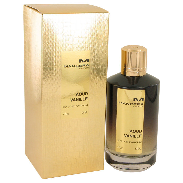 Mancera Aoud Vanille Eau De Parfum Spray (Unisex) By Mancera - Sensual Fashion Boutique