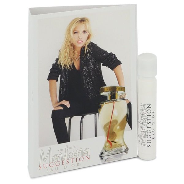 Montana Suggestion Eau D'or Vial (sample) By Montana - Sensual Fashion Boutique