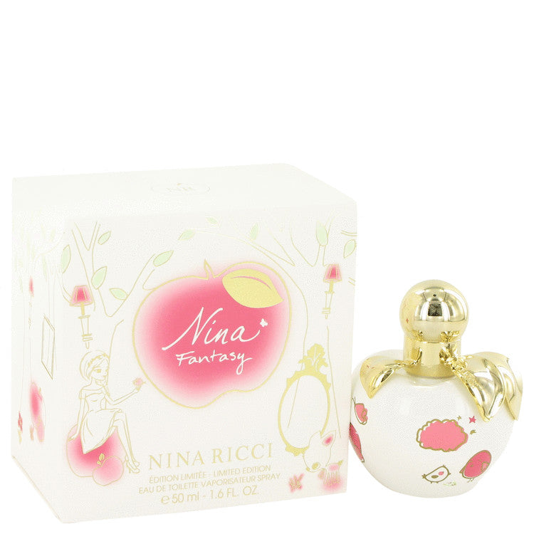 Nina Fantasy Eau De Toilette Spray (Limited Edition) By Nina Ricci - Sensual Fashion Boutique