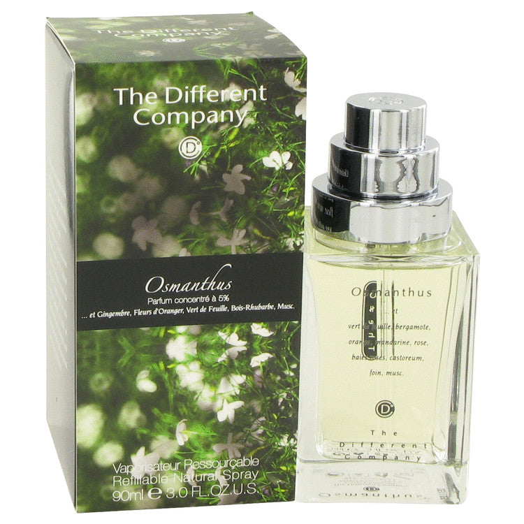 Osmanthus Eau De Toilette Spray Refilbable By The Different Company - Sensual Fashion Boutique