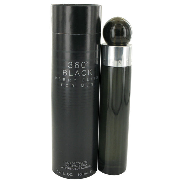 Perry Ellis 360 Black Eau De Toilette Spray By Perry Ellis - Sensual Fashion Boutique