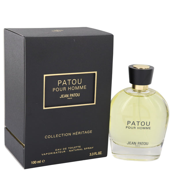 Patou Pour Homme Eau De Toilette Spray (Heritage Collection) By Jean Patou - Sensual Fashion Boutique