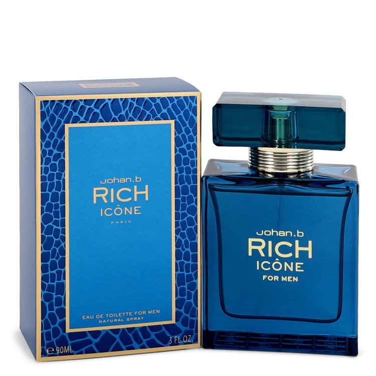 Rich Icone Eau De Toilette Spray By Johan B - Sensual Fashion Boutique