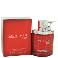 Yacht Man Red Eau De Toilette Spray By Myrurgia - Sensual Fashion Boutique