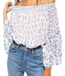 Free People Rose Valley Printed Blouse - Sensual Fashion Boutique