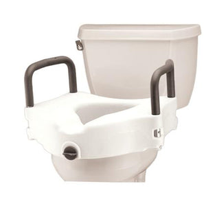 Toilet Seat Elevated With Arms