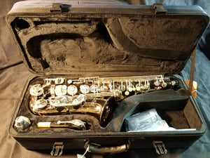 Virtuoso Alto Saxophone Black Nickel #140020