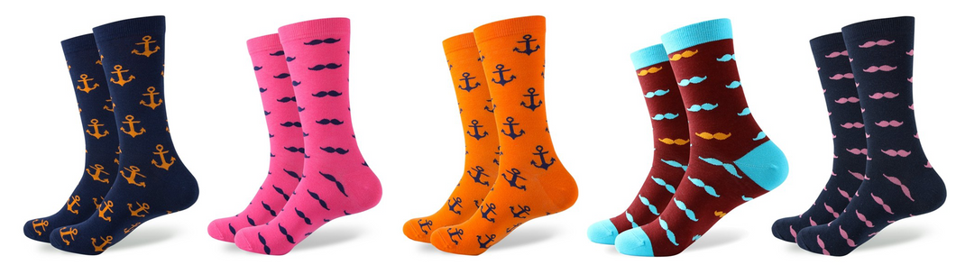Anchors And Moustaches Bundle
