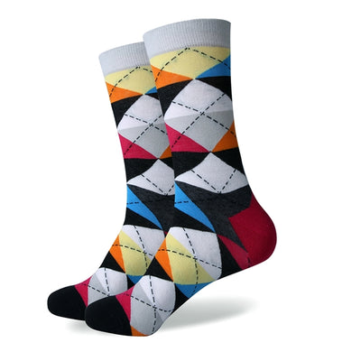 Colourful Argyle Socks