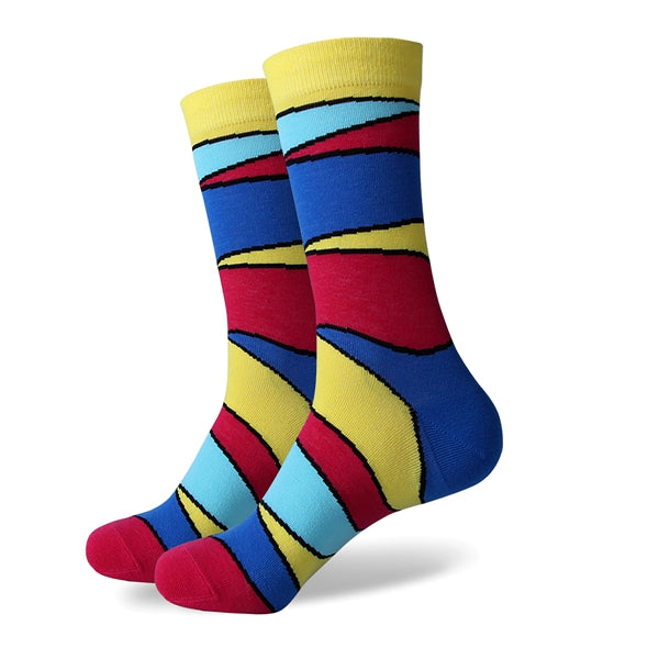 Colourful Segment Socks