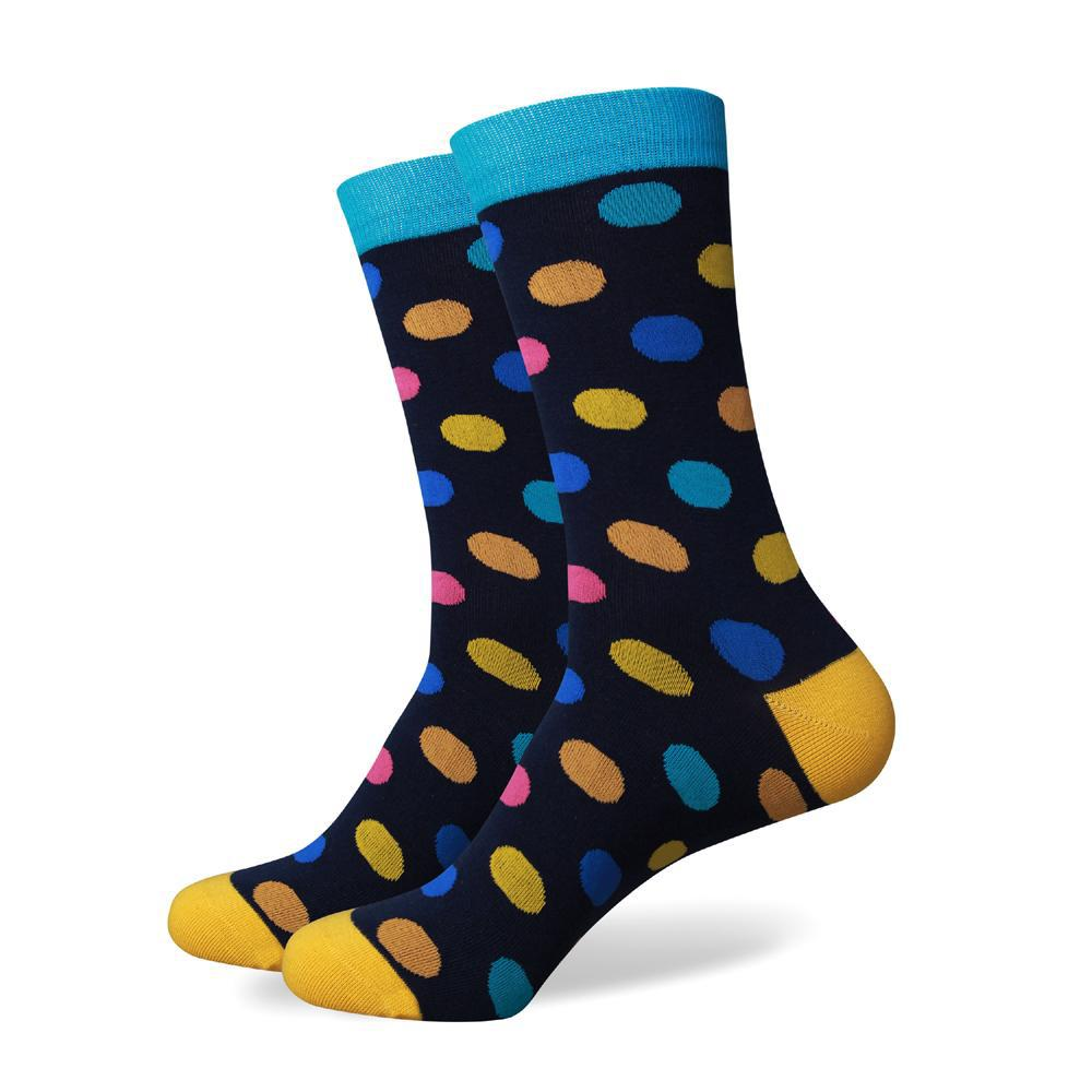 Multi Color Dots Socks