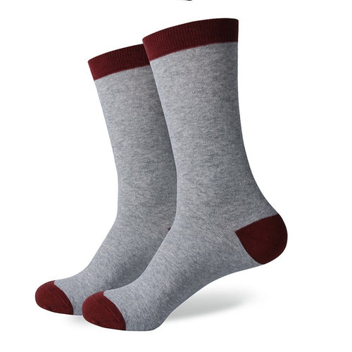 Red Grey Socks