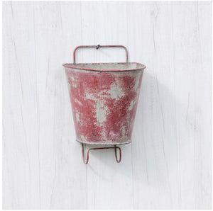 Hanging Planter - Red