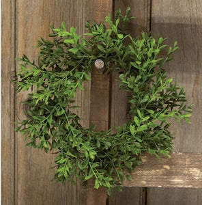 "Small Boxwood Wreath - 8.5"" - Last 2!"
