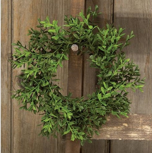 Small Boxwood Wreath - 8.5